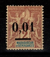 Madagascar - YV 51 N* Type I Cote 14 Euros - Madagascar (1889-1960)