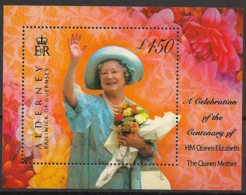 Alderney - 2000 - N°Yv. Bloc 8 - Queen Elisabeth  - Neuf Luxe ** / MNH / Postfrisch - Alderney