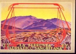 La Ferrovia Adriatica Sangritana - Italia 1934 - Riproduzione Da Originale - Cartes Postales