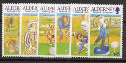 Alderney - 2001 - N°Yv. 174 à 179 - Golf  - Neuf Luxe ** / MNH / Postfrisch - Golf