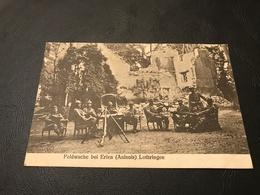 Feldwache Bei Erlen (Aulnois) Lothringen - Soldats Allemands Casque à Pointe - Autres Communes