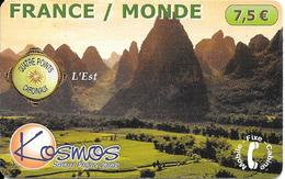 CARTE PREPAYEE-KOSMOS-7.5€-EST--FRA NCE MONDE-02/02-40000 Ex- T BE- - France