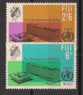 Fiji - 1966 - N°Yv. 203 à 204 - OMS - Neuf Luxe ** / MNH / Postfrisch - Fidji (1970-...)