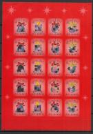 Aland - 2000 - Feuille Adhésive God Jul - Neuf Luxe ** / MNH / Postfrisch - Aland