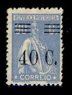! ! Portugal - 1928 Ceres W/OVP 40 C - Af. 475 - MH - 1910-... République