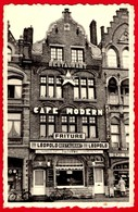 """-- YPRES """"CAFE MODERN"""" / RESTAURANT - FRITURE / CH. MARTIN 24 GRAND'PLACE à YPRES -- - Ieper"""