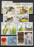 Aland - 2001 - N°Yv. 183 à 197 - Année Complète - Neuf Luxe ** / MNH / Postfrisch - Aland
