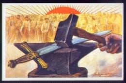 Partito Socialista - Propaganda Pacifica . Italia 1906 - Cartoline
