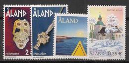 Aland - 2002 - N°Yv. 209 à 212 - 4v - Neuf Luxe ** / MNH / Postfrisch - Aland