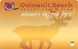 Quinault Beach Resort & Casino - Ocean Shores WA - BLANK Slot Card - Cartes De Casino