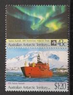 Australian Antarctic Territory / AAT - 1991 - N°Yv. 88 à 89 - Traité - Neuf Luxe ** / MNH / Postfrisch - Bateaux