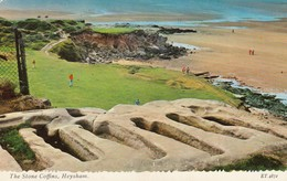 Postcard The Stone Coffins Heysham [ Bamforth ] My Ref  B13066 - Autres