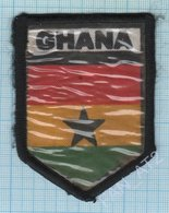 Ghana / Patch Abzeichen Parche Ecusson / Peacekeeping Mission.  Liberia. Africa. - Ecussons Tissu