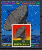 Singapore - 1971 - N°Yv. 138 à 142 - Communication Par Satellite / Telecom - Neuf Luxe ** / MNH / Postfrisch - Telekom