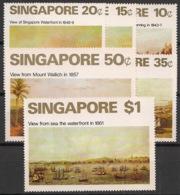 Singapore - 1971 - N°Yv. 143 à 148 - 19th Century - Neuf Luxe ** / MNH / Postfrisch - Singapur (1959-...)