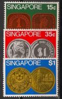 Singapore - 1972 - N°Yv. 149 à 151 - Monnaies - Neuf Luxe ** / MNH / Postfrisch - Singapur (1959-...)