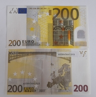 GERMANY 200 Euro 2002 TRICHET  Letter X UNC Print Code E001 B3 - EURO