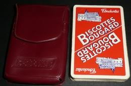 Rare Ancien Jeu De 32 Cartes En étui Plastique, Biscottes BOUGARD, Carte Biscotte - 32 Kaarten