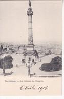 BRUXELLES. LA COLONNE DU CONGRES - CPA CIRCA 1900s - BLEUP - Multi-vues, Vues Panoramiques
