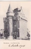 BRUXELLES. LA PORTE DE HAL - CPA CIRCA 1904s - BLEUP - Panoramische Zichten, Meerdere Zichten