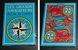 Rare Jeu De 54 Cartes NEUF En Boite, Les Grands Navigateurs, Carte, Jokers - 54 Cards