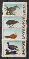 Singapore - 1984 - N°Yv. 432 à 435 - Faune / Oiseaux / Birds - Neuf Luxe ** / MNH / Postfrisch - Oiseaux