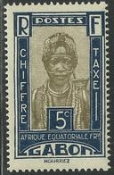 GABON 1930 YT Taxe 12** - MNH - SANS CHARNIERE NI TRACE - Gabon (1886-1936)