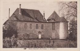 CPA Saint-Auvent - Le Château (avec Petite Animation) - Frankreich