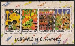 Singapore - 1989 - Bloc Feuillet BF N°Yv. 22 - Festivals - Neuf Luxe ** / MNH / Postfrisch - Singapur (1959-...)