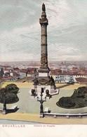 BRUXELLES. COLONNE DU CONGRES - CPA CIRCA 1904s - BLEUP - Panoramische Zichten, Meerdere Zichten