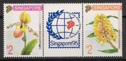 Singapore - 1994 - N°Yv. 697 à 698 - Fleurs / Orchidées - Neuf Luxe ** / MNH / Postfrisch - Singapore (1959-...)