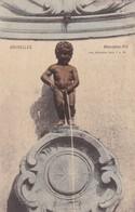BRUXELLES. MANNEKEN PIS. NELS - CPA CIRCA 1904s - BLEUP - Panoramische Zichten, Meerdere Zichten