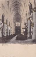 BRUXELLES. INTERIEUR DE SAINTE GUDULE. NELS - CPA CIRCA 1904s - BLEUP - Multi-vues, Vues Panoramiques