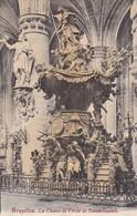 BRUXELLES. LA CHAIRE DE VERITE DE SAINTE GUDULE - CPA CIRCA 1904s - BLEUP - Multi-vues, Vues Panoramiques