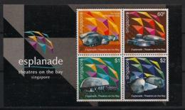 Singapore - 2002 - Bloc Feuillet BF N°Yv. 86 - Esplanade - Neuf Luxe ** / MNH / Postfrisch - Singapur (1959-...)
