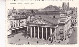 BRUXELLES. MONEY'S THEATRE OPERA THEATRE ROYAL DE LA MONNAIE - CPA CIRCA 1900s - BLEUP - Panoramische Zichten, Meerdere Zichten