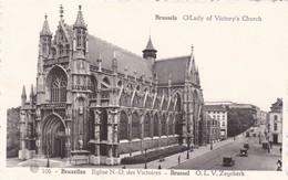 BRUXELLES. EGLISE N.D. DES VICTOIRES. O L V. ALBERTPHOTOTYPIE A DOHMEN - CPA CIRCA 1920s - BLEUP - Multi-vues, Vues Panoramiques
