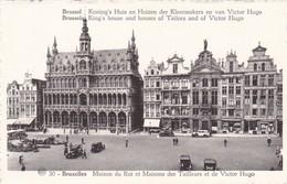 BRUXELLES. MAISON DU ROI ET MAISONS DES TAILLEURS ET DE VICTOR HUG. ALBERT PHOTOTYPIE A DOHMEN - CPA CIRCA 1920s - BLEUP - Panoramische Zichten, Meerdere Zichten