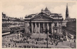 BRUXELLES. LA BOURSE DE BEURS. NELS - CPA CIRCA 1920s - BLEUP - Multi-vues, Vues Panoramiques