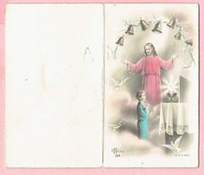 Plechtige Heilige Communie  - Marcel Van Schepdael - Drogenbos 1957 - Communion Solennelle - Images Religieuses