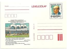 0579c Hungary Postcard Unused Music Composer Robert Stolz Architecture Building Tourism Spa - Expositions Philatéliques