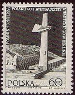 POLAND 1972 Mi 2159  Anti-fascist Monument In Berlin. Cross  MNH** W 1198 - 1944-.... République