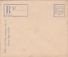 URUGUAY REGISTERED RECCOMMANDE ENVELOPE CIRCA 1900s - BLEUP - Uruguay