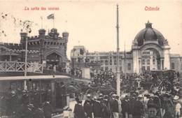 OSTENDE - La Sortie Des Courses - Oostende
