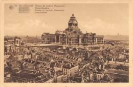 BRUXELLES - Palais De Justice.  Panorama - Panoramische Zichten, Meerdere Zichten