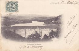 CPA 07 @ SAINT MARCEL LES ANNONAY En 1903 Lac Et Barrage De Ternay (le Tour Fait 3,8 Km) - France