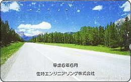 110 - 108 :  82 Cards Similar As Pictured 50u  + 4 Cards 105u   ROAD WITH PINE TREES - Japon