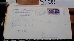 VALMADONNA ALESSANDRIA DITTA MOBILI ALFIO BAUSONE BUSTA 50 LIRE  100° VITTORIA 1918/68 VB1969 HB9264 - Alessandria