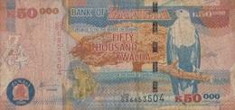 Zambie / 50 000 Kwacha / 2008 / P-48(d) / VF - Zambie