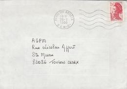 LSC 1988 - Cachet PARIS TRI ARMEES - B.C.M-C- - Postmark Collection (Covers)